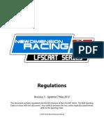 LFSCART 2012 Rules Book