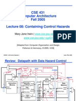 cse431-08controlhazards
