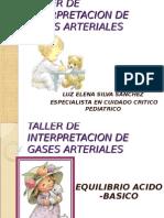 Taller de Interpretacion de Gases Arteriales