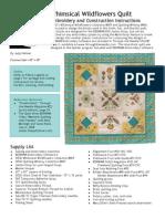 Wildflower Quilt Pattern