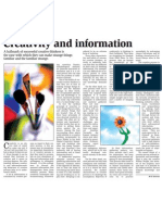 Creativity and information.