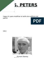 Presentación R.S. PETERS