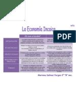 """Cuadro comparativo  """"La Economia Inca"""" - Mariana Salinas"""