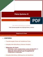 Diagramas de Fase - F. Química II._