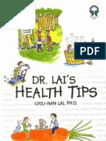 Dr. Lai's Health Tips - Lai Chiu-Nan