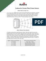 License Plate Sensor Instructions 5.17.07
