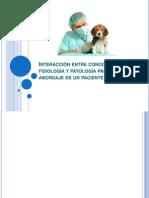 Interacción entre conocimientos de fisiología y patología para