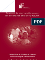 Repensar La Intervencion Social Los Escenarios Actuales y Futuros