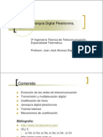 Jerarquia digital pleosincrona PDH