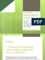 Seminário - Catalise heterogênea