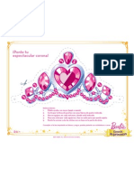 PCS Printable Tiara Decorator