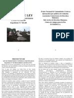 Ley Territorios Costeros Comunitarios 18148