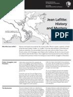 Jean Lafitte Pirate Site Bulletin