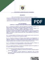 Constitucion de La Provincia de Catamarca