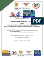 FORMATO DE PRODUCTOS PARTICIPANTE MÓDULO 2 RIEB 3° Y 4°  2012 unitep053  ATP FJIR LXB