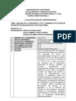 Primer Taller de Analisis Jurisprudencial-teoria Constitucional II