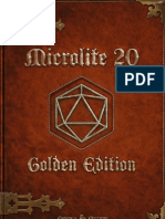 Micro Lite 20 Golden Edition - English Version
