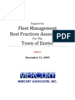 Fleet Best Practices Assessment Report for Exeter - Initial Draft 111209 (3)