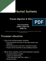 24 Processor Allocation
