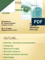 Biometric Seminar
