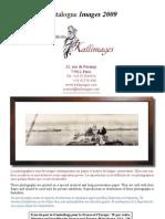 Catalogue Cadres Kallimages 2009