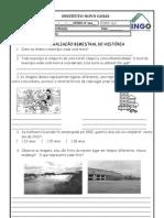 avaliação 1º bimestre  história.doc