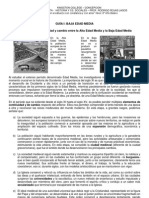 Guia 1 Baja Edad Media ad y Cambio y Mejoras Agricolas