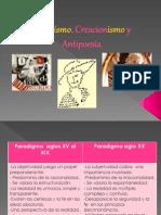 Dadaísmo, Creacionismo, Antipoesía