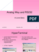 RS232 and Hyper Terminal Basics by ARL