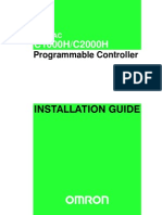 C1000H 2000H Installation Guide