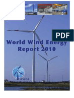 World Wind Energy Report 2010