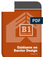 Barrier Design Guidance