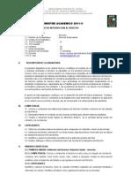 Introduccion Al Derecho 2011-II
