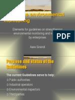 Guidelines.environmentalSelfMonitoring