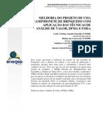 Aplicação das técnicas de AV, DFMA e FMEA