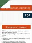 Uso de Muestras en Epidemiologia