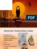 Historia de La Medicina China
