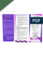 brosur pendaftaran palu