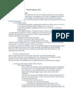 FMST 341 Study Sheet