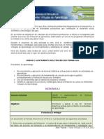 Actividades Unidad 1 - to Del Proceso Formativo