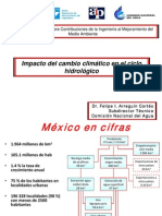 Impacto Del Cambio Climatico en El Ciclo Hidrologico
