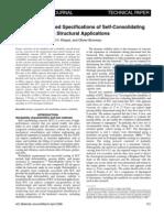 ACI Journal SCC Specs