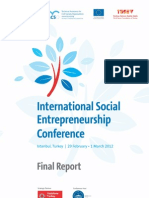 International Social Entrepreneurship Conference Final Report