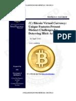 FBI Bitcoin Report April 2012