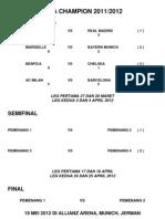 Liga Champion 2012