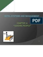 Leading People i  strategic management