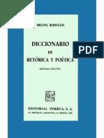 Beristain Helena Diccionario de 2