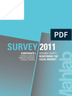 Mahlab Survey 2011 Corporate Counsel