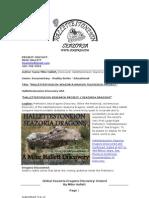 HALLETTESTONEION SEAZORIA DRAGONS DISCOVERY