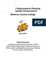 Sample Erp County College